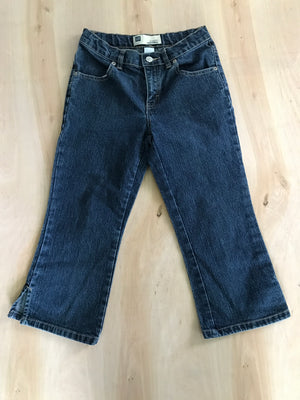 Girls Capri Jeans Stretch (12)