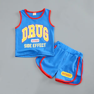Summer Sports Clothing Set