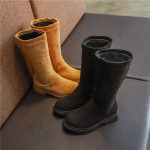 Warm Solid Boots