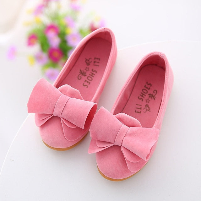 Princess bow Peas shoes
