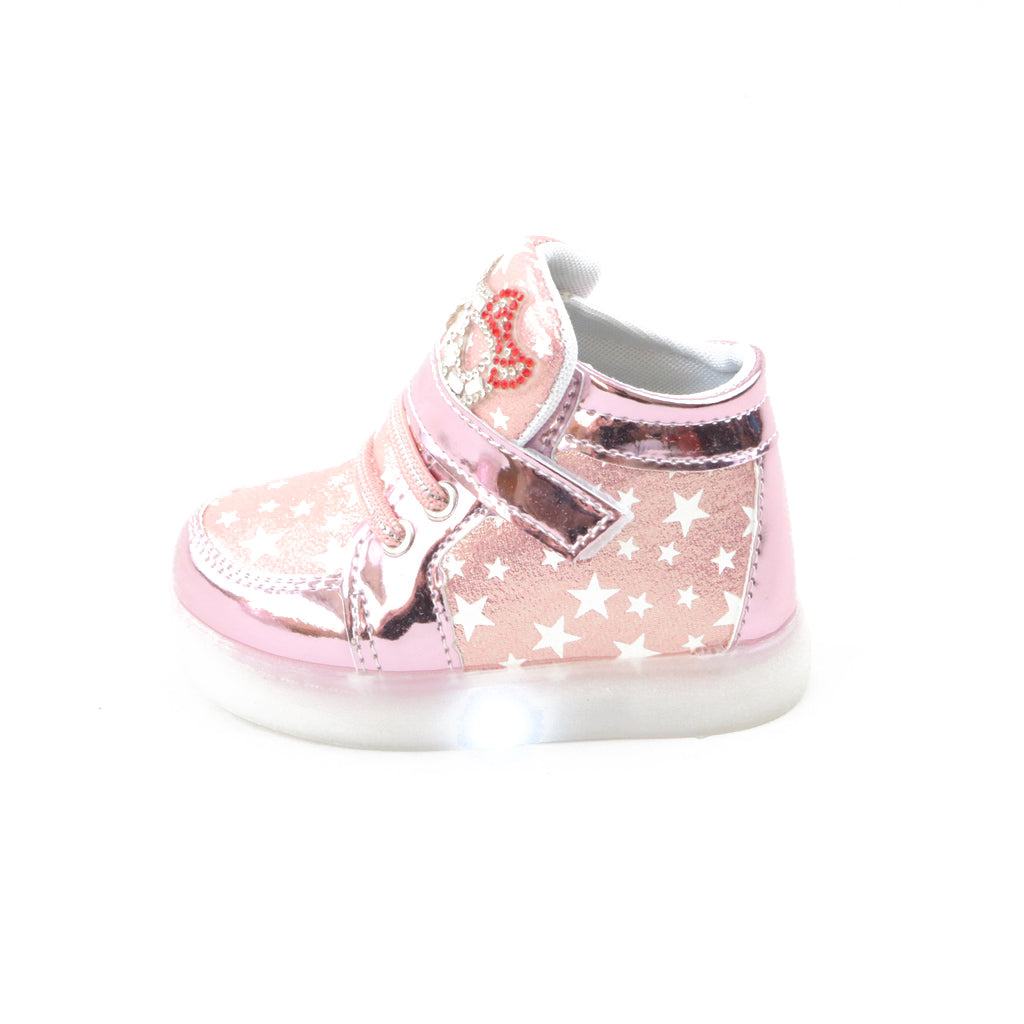 LED lights fashion sneakers