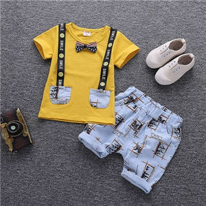 1c64471bcce9 Baby Boy Clothes Summer Children Clothing Cartoon 2018 New Kids Cotton Cute  Sets Baby Boy Outfit