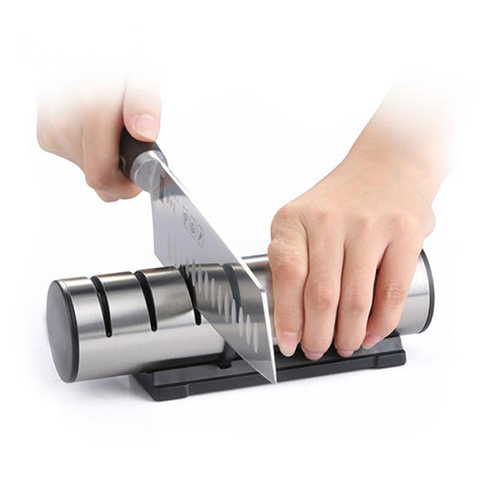 Image of SCULLERY 3-Level Knife Sharpener - AddPop