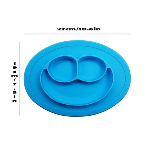 Image of PreHend Smiling Baby Silocone Bowl - AddPop