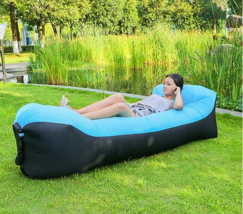 Image of Easy Inflate Outdoor Lounger - AddPop