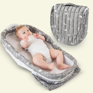 Portable Bassinet with Night Light