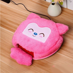 Pet Friend Hand Warmer Mouse Pad