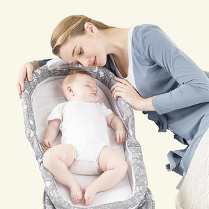 Portable Bassinet with Night Light - AddPop