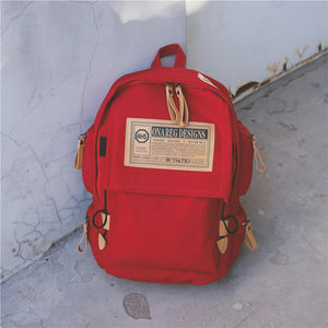 ON-A-Reg Oversized Canvas Backpack
