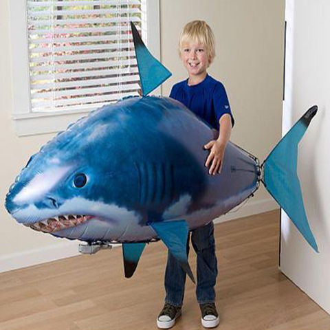Remote Control Blimp Fish - AddPop