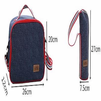 Denim Lunch Bag - AddPop