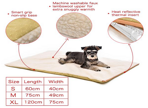 Image of WOOLEE Comfy Pet Warming Pad - AddPop