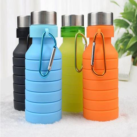 Image of Collapsable Sports Water Bottle - AddPop
