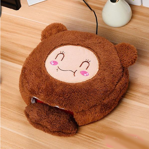 Pet Friend Hand Warmer Mouse Pad - AddPop