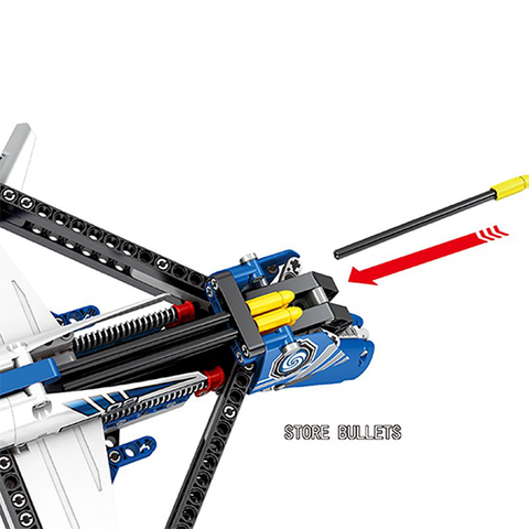 UBUILD 322pc Toy Blocks CrossBow - AddPop