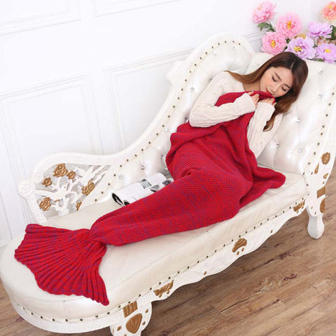 Image of SOSOFT Purple Mermaid Blanket - AddPop