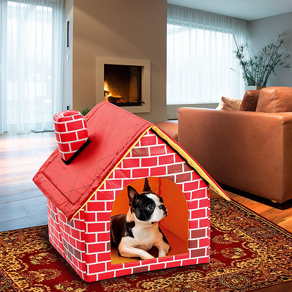 Brick House Dog Bed - AddPop