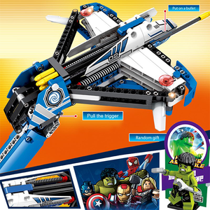 UBUILD 322pc Toy Blocks CrossBow