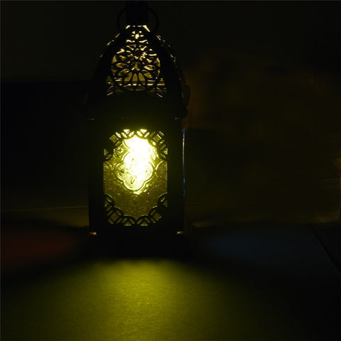 Image of Gothic Stained Glass Lantern