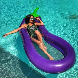 EggPlant Pool Lounger