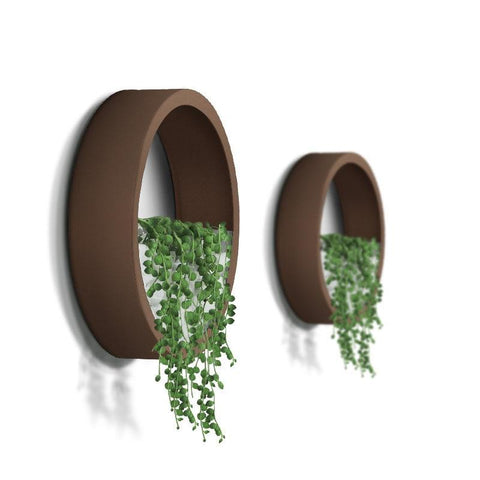 Image of Nordic See-Through Wall Planter - AddPop