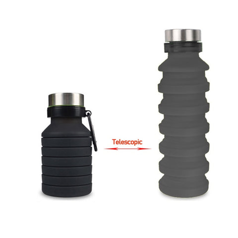 Image of Collapsable Sports Water Bottle
