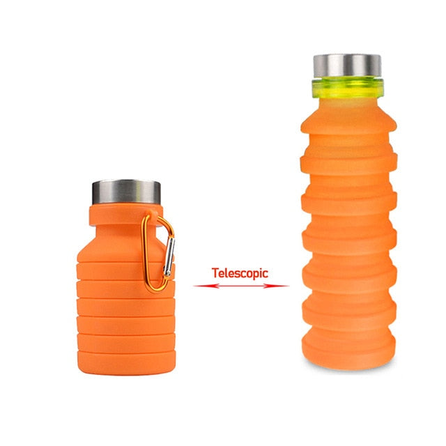 Collapsable Sports Water Bottle