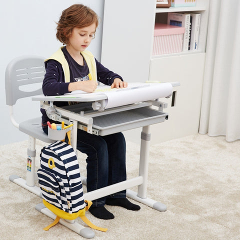 PreHend Kids Adjustable Desk Chair Set - AddPop