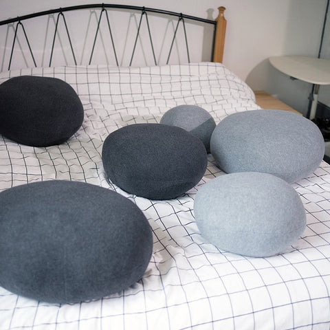 Image of River Stone Pillows - AddPop