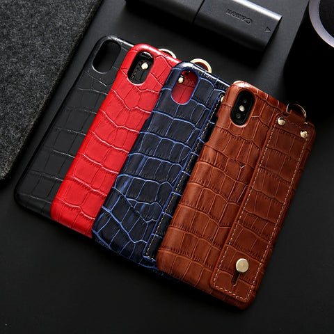 CROCO Hand Strap iPhone Case - AddPop