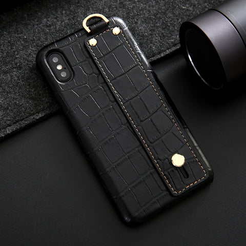 Image of CROCO Hand Strap iPhone Case - AddPop