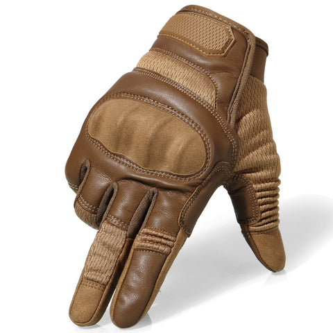 Image of VYCE Touchscreen Leather Bike Gloves - AddPop