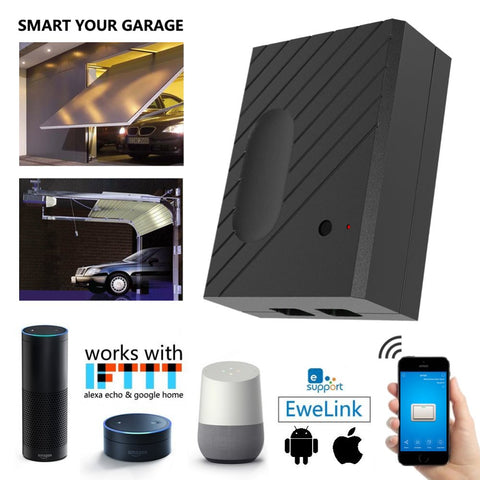 EWE Wifi Garage Door Opener with Alexa - AddPop