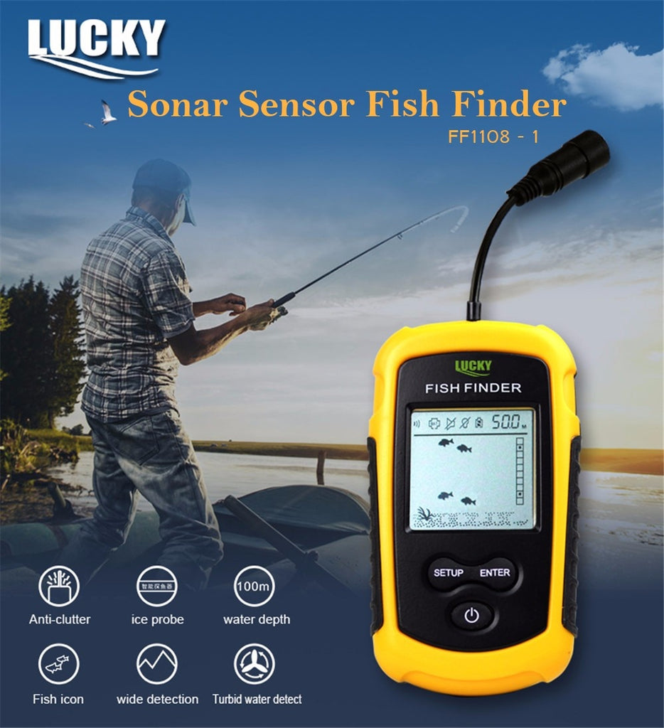 GETLucky Remote Control Fish Finder - AddPop