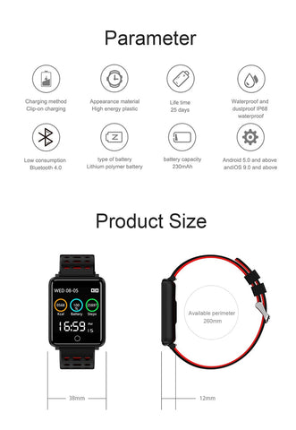 Image of Bluetooth Fitness Tracker - AddPop