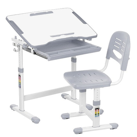 Image of PreHend Kids Adjustable Desk Chair Set - AddPop