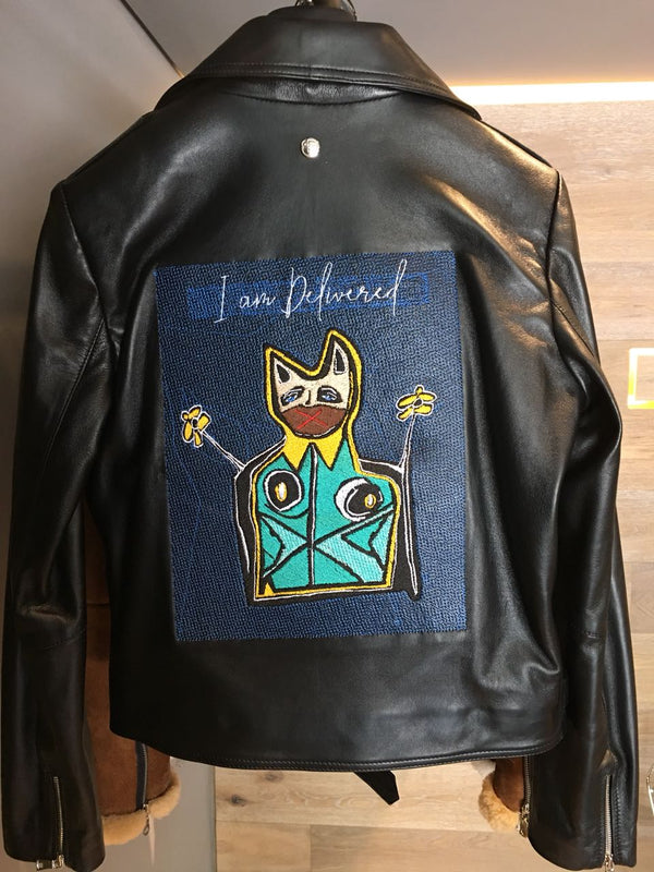 "Sketch Jacket ""I am delivered"""