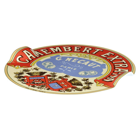 BIA Classic Camembert Cheese Platter with Raised Handles, Multi-Colour