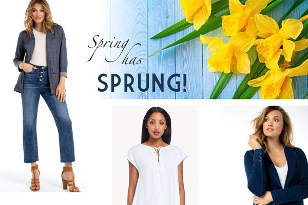 New spring styles arriving daily!