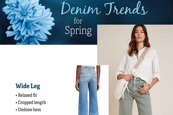 New denim arriving weekly