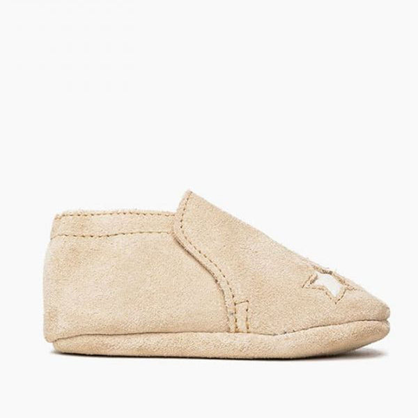 Star Infant Bootie - Stone