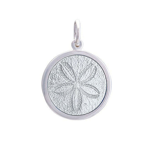 Medium Pendant - Sand Dollar