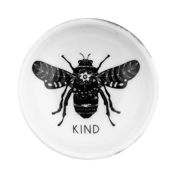 B&W Ring Bowl - Bee Kind