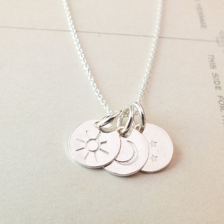 Small Pendant - Mother & Daughter