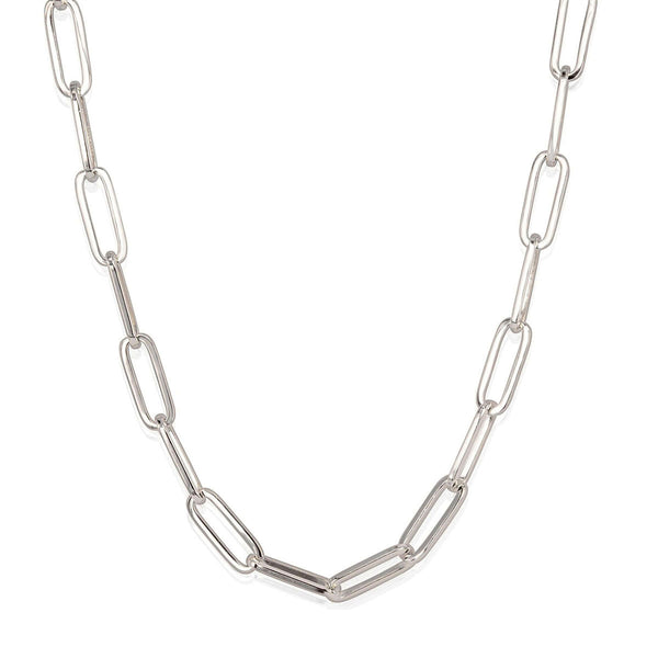 Oval Chain Necklace - 5.2mm 18""