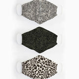 Organic Cotton 3-Pack Masks