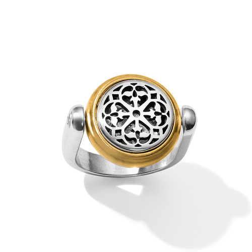Ferrara 2 Tone Reversible Ring