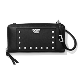 Pretty Tough Rox Large Zip Wallet - Black