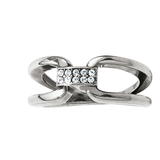 Meridian Swing Duet Ring