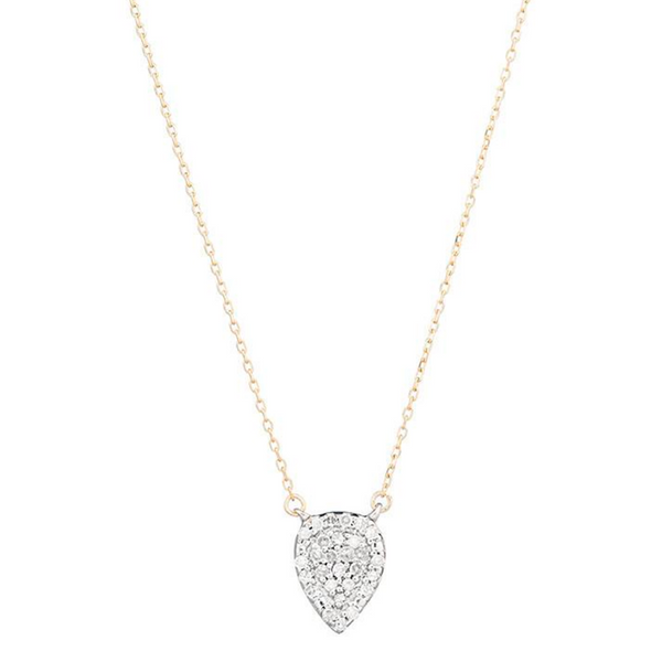 Solid Pave Teardrop - Mixed
